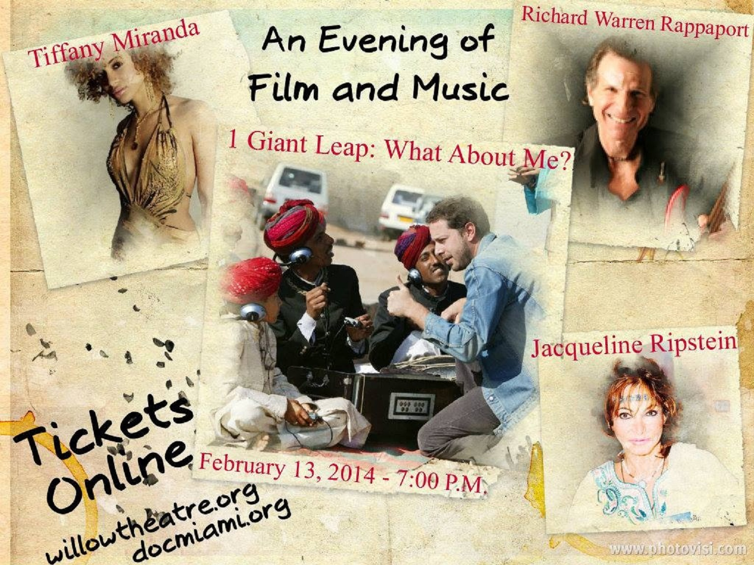 An Evening of Film & Music..Florida Film Festival JR : Intro Film Festival & Book signing